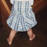 【女の子】赤ちゃん(8ヶ月):とある1日のスケジュール。伝い歩きはじまる。